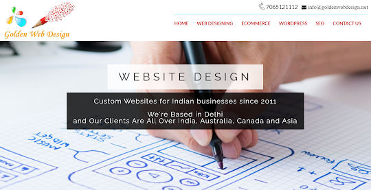 golden web design