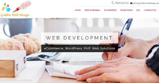 golden web designs