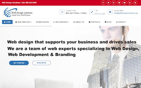 web design solutions india